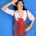 Ahoi! Das Matrosenkleid, Ansichten meines Kleiderschranks