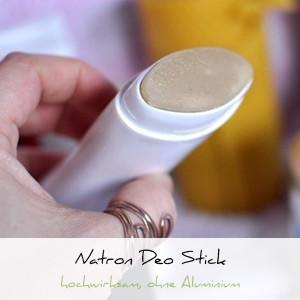 Natron Deo Stick ohne Aluminium