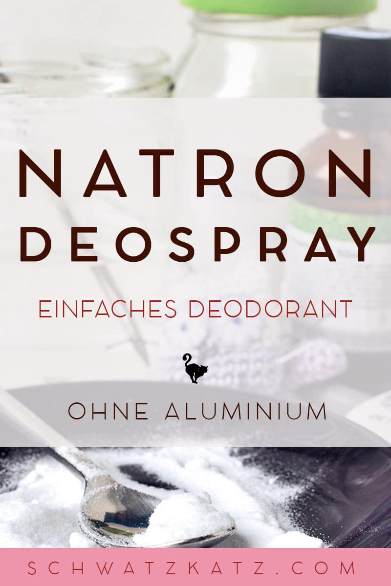 Natron Deo Spray von Schwatz Katz