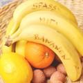 Sag's mit Bananen: Botschaften aus dem Obstkorb