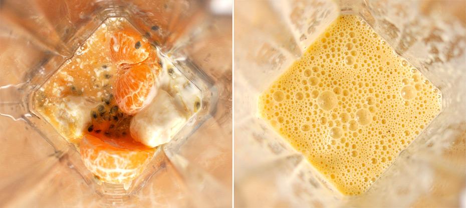 Schoko liebt Mandarine Smoothie