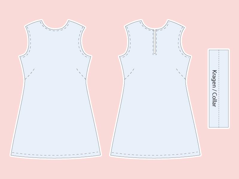 New York trifft Mailand Kleid, Ansichten meines Kleiderschranks