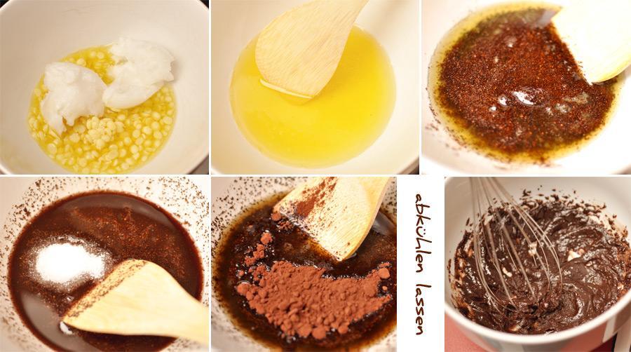 Mousse au Chocafé, Luxuspeeling selbst gemacht