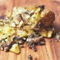 Buchstäbliche Quetschkartoffeln vom Blech | vegan, WW