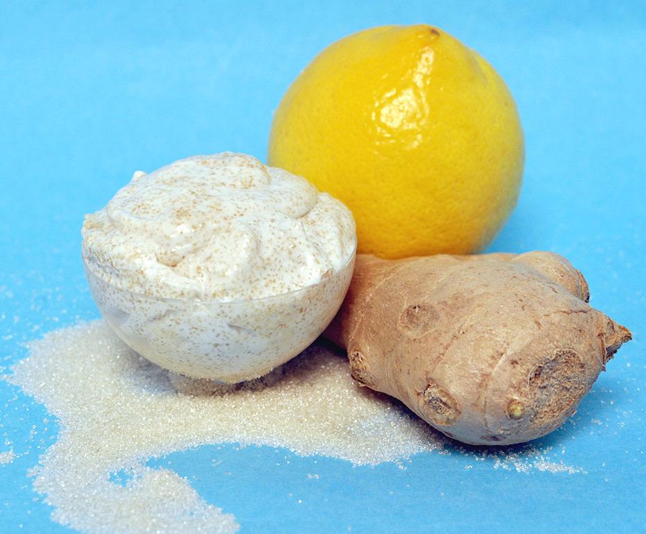 Ingwer Zucker Peeling selber machen