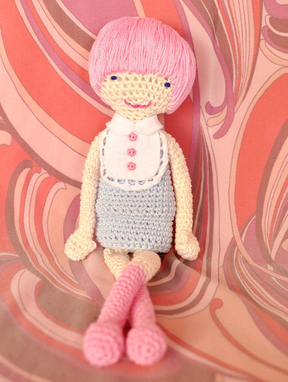 Rosa the Mod Girl, Amigurumi-Muster als eBook