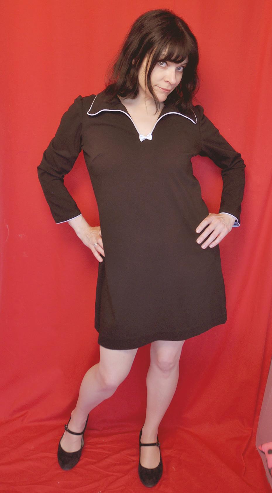 Mein selbstgemachter Kleiderschrank: Governess Dress, mein Lieblingskleid