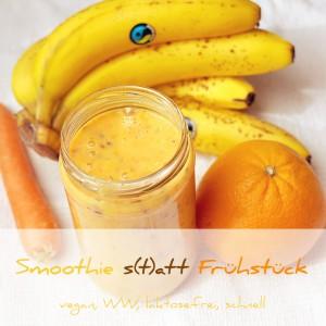 Smoothie zum Frühstück