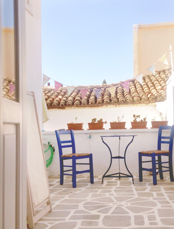 Balkon auf Kreta