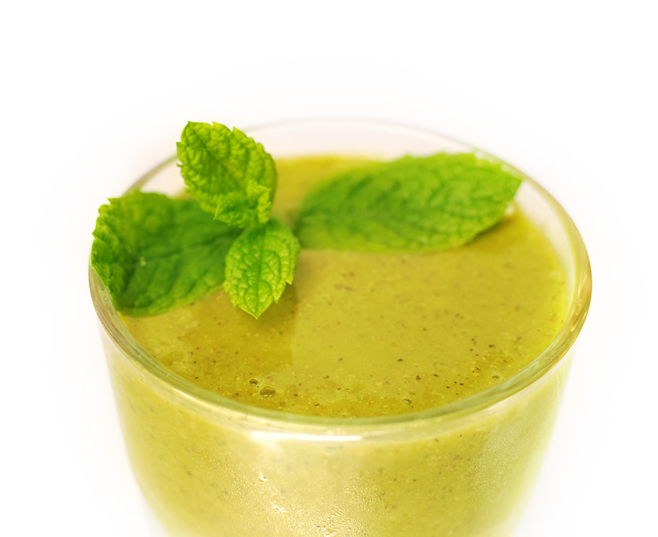 "Green Smoothie ""Froothie"" ohne Milchprodukte"