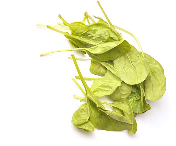 """Spinat für Green Smoothie """"Froothie"""" ohne Milchprodukte"""