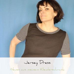 Inspirations August, Jersey Dress