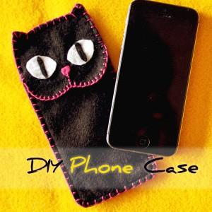 Smart Phone Smartphone Case oder Cover mit KatzenmotivCase selbermachen