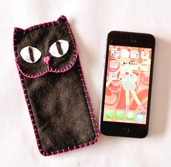 Smartphone Case oder Cover mit Katzenmotiv
