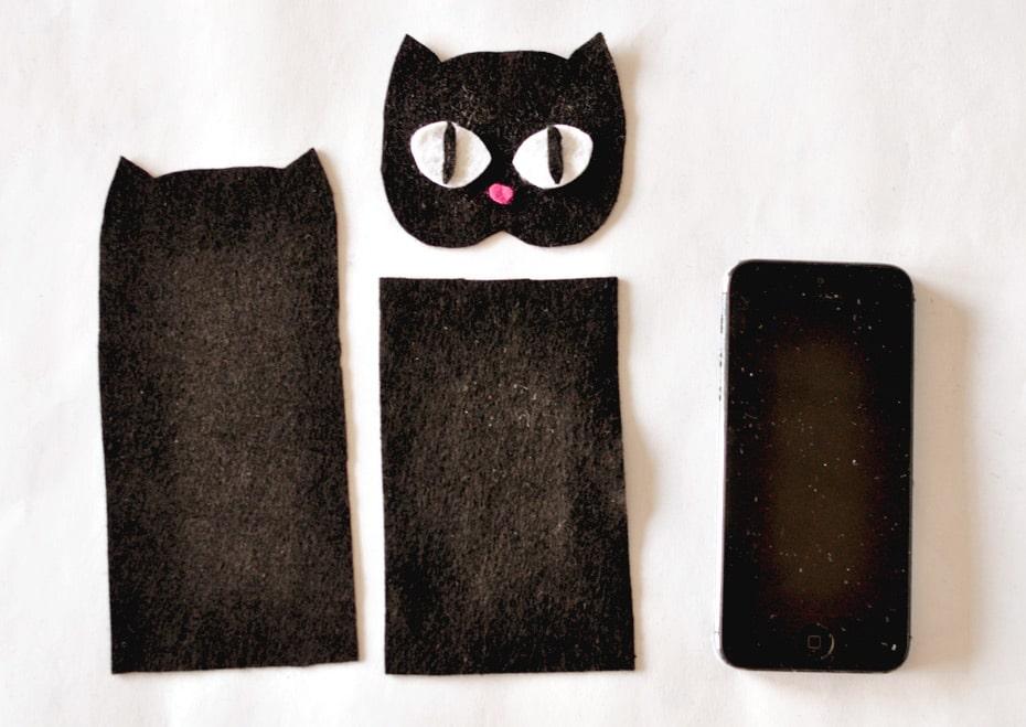Smart Phone Case Einzelteile