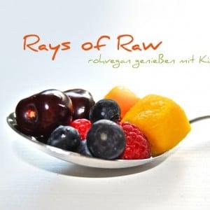 Rohvegan genießen mit Rays of Raw