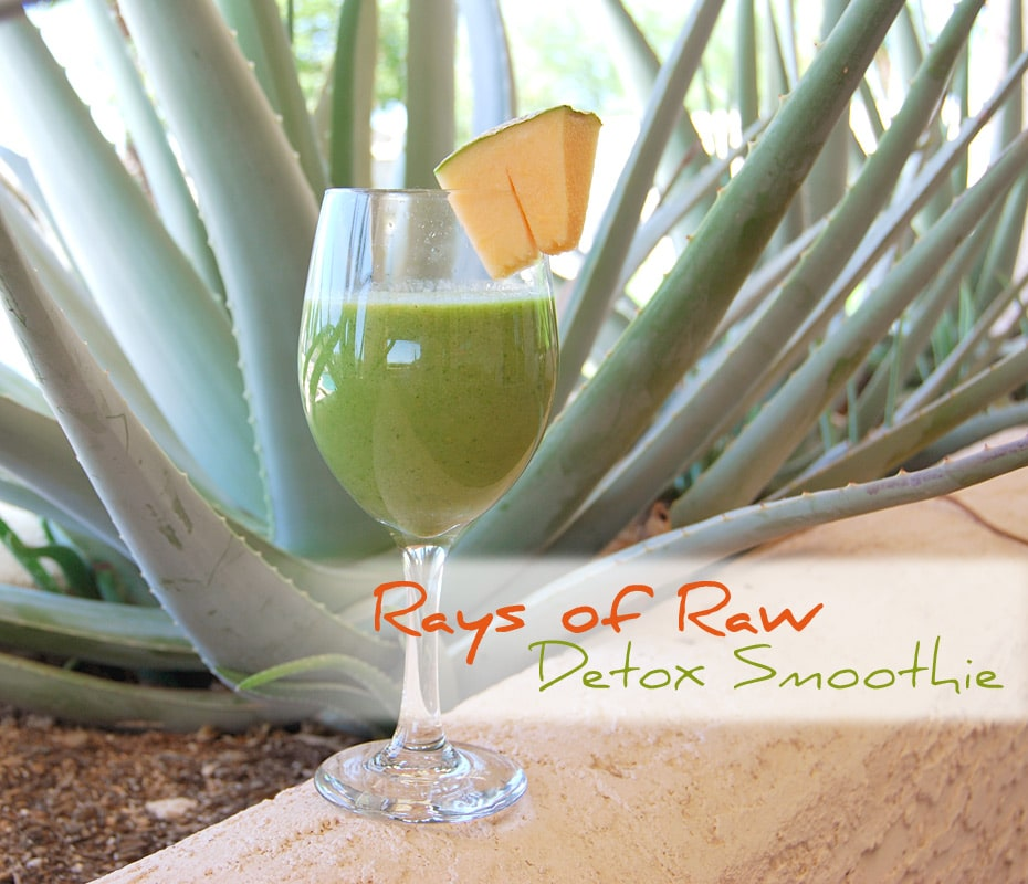Rohvegan genießen mit Rays of Raw: Detox-Smoothie