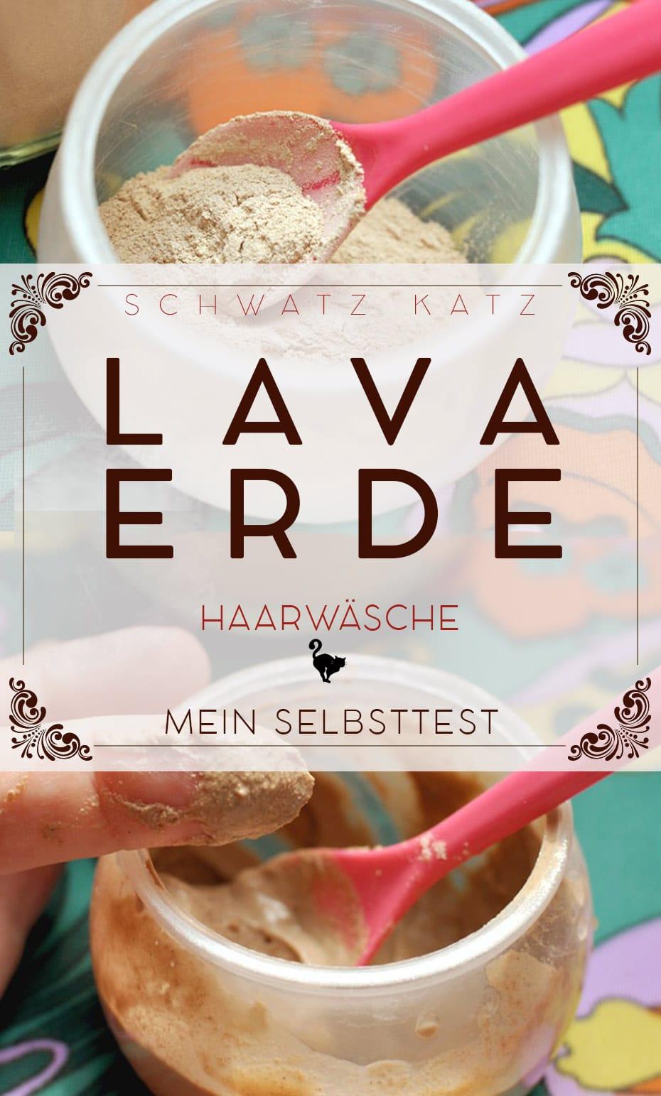 Haare waschen mit Lavaerde (Ghassoul) | Schwatz Katz