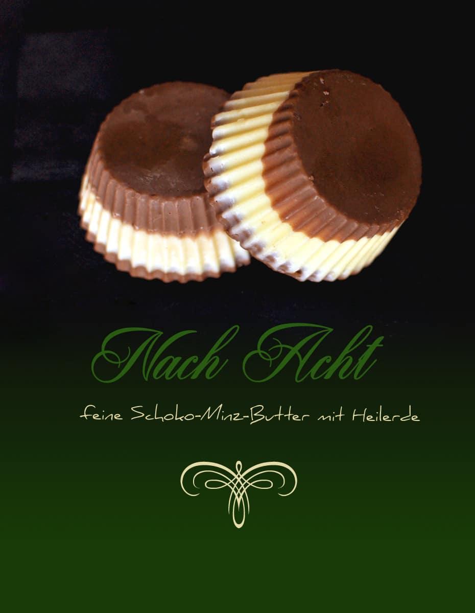 Nch Acht, feinste Schoko-Minz-Butter für zart gepflegte Haut