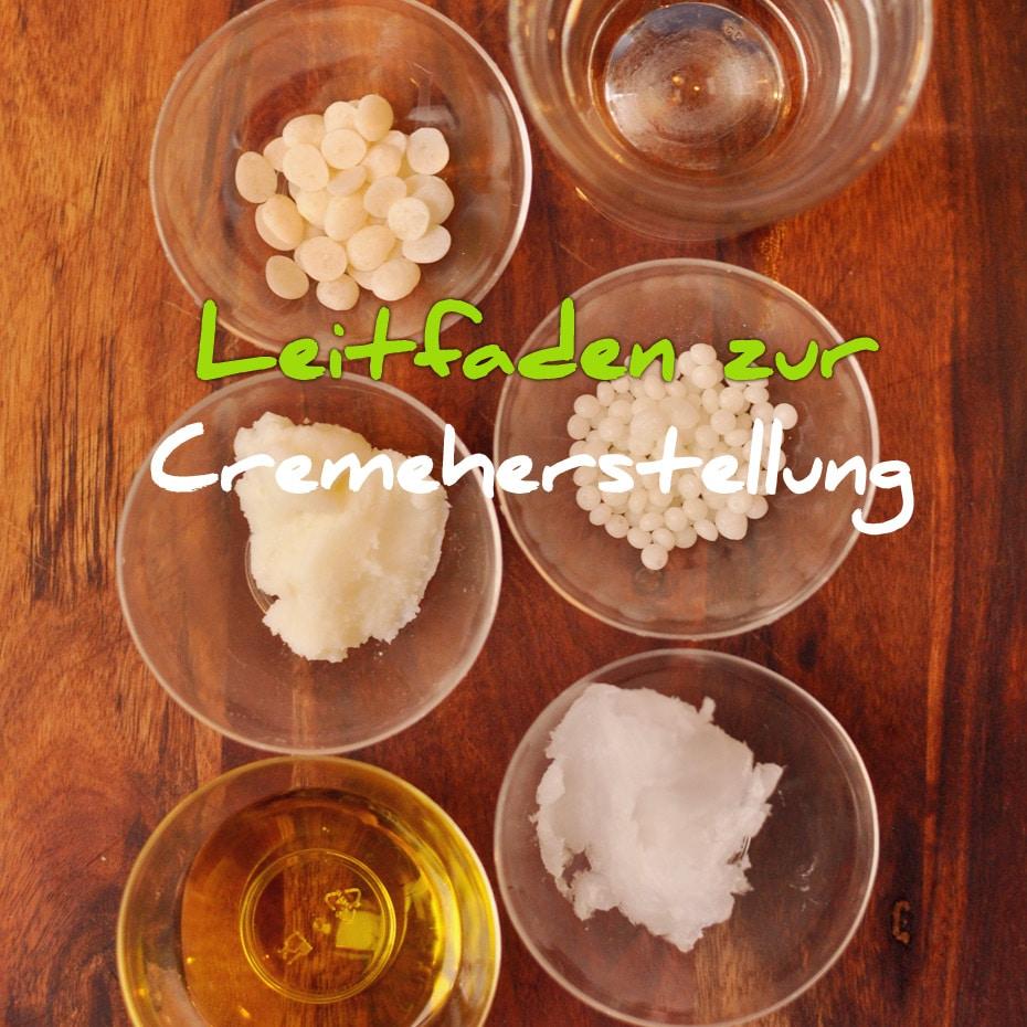 Leitfaden Cremeherstellung