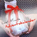 Last Minute Adventskalender-Girlande