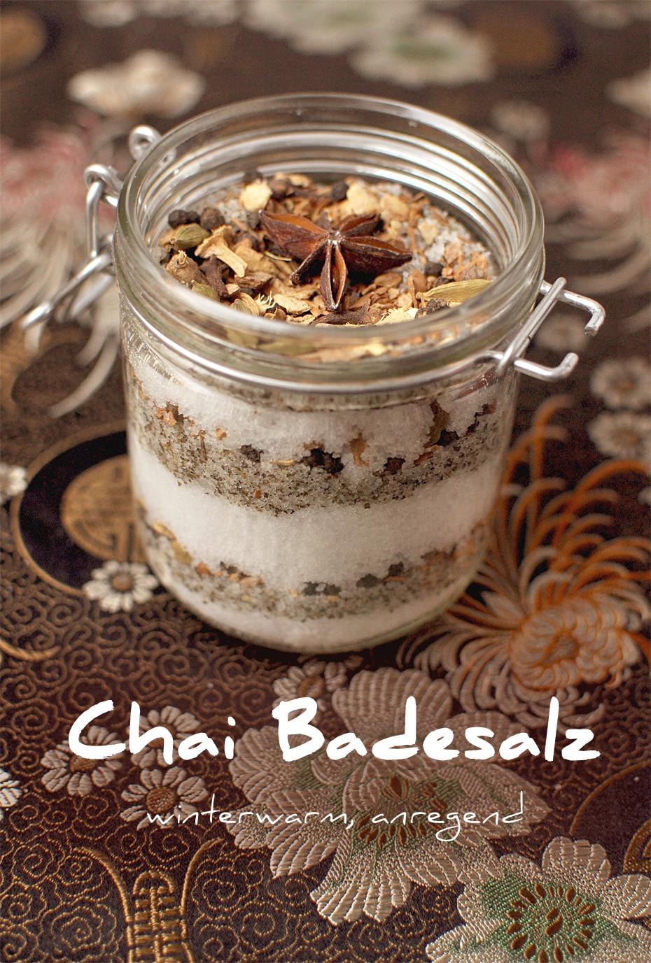 Geschenkidee Chai Badesalz | Schwatz Katz