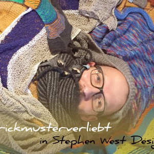 Strickmusterverliebt in Stephen West Designs | Schwatz Katz