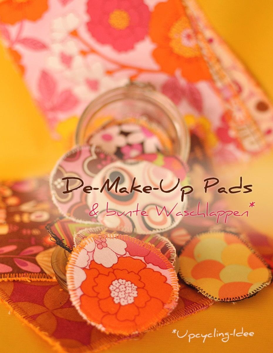 DIY De-Make-Up Pads & Waschlappen | Schwatz Katz