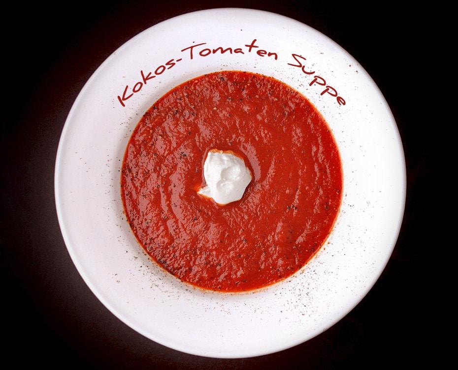 Kokos-Tomaten Suppe | Schwatz Katz