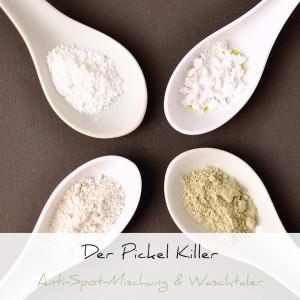 Der Pickel Killer, Puder & Waschtaler | Schwatz Katz