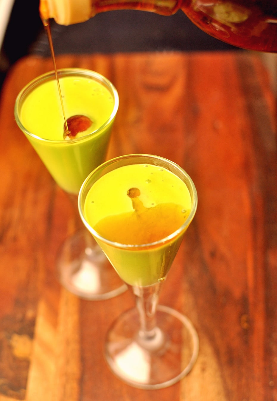 Green Shot oder Hallo Wach-Cocktail Smoothie | Schwatz Katz