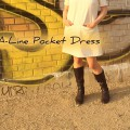 A-Line Pocket Dress | Schwatz Katz