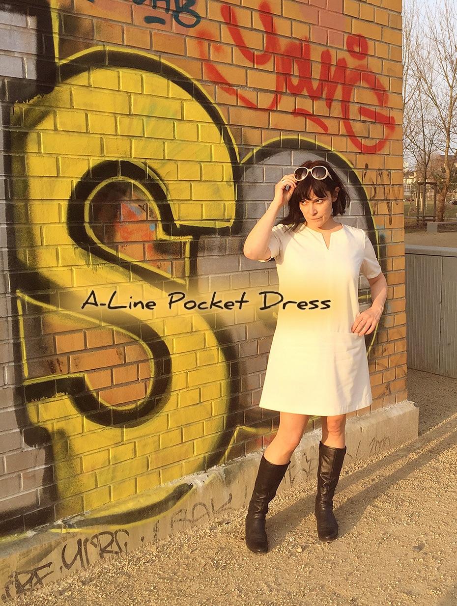 A-Line Pocket Dress | Schwatz Katz