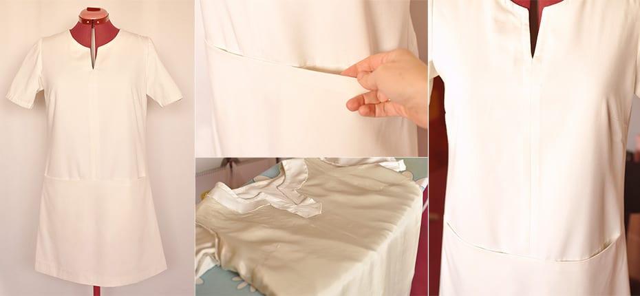 A-Line Pocket Dress   Schwatz Katz
