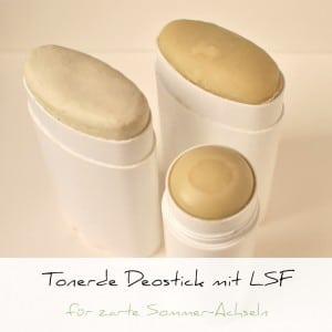 Deostick mit Tonerde und leichtem LSF | Schwatz Katz