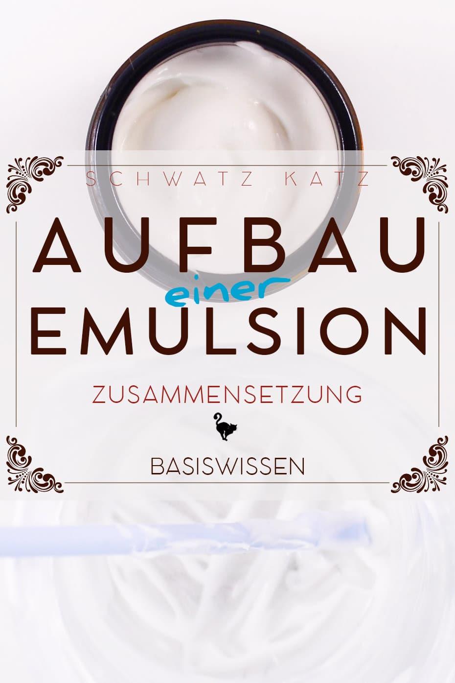 Aufbau einer Emulsion | Schwatz Katz