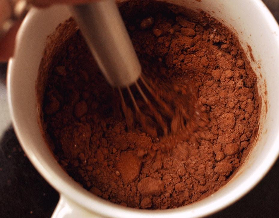 Vegan Ingwer Schokoladen Sorbet