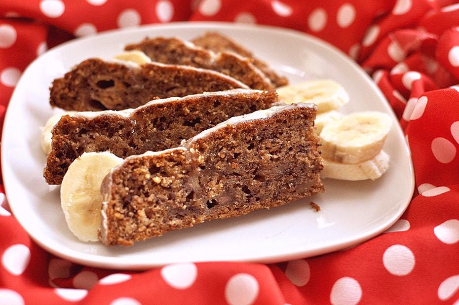 Bananenbrot von Cake Invasion auf Schwatz Katz