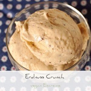 Erdnuss Schoko Crunch Vegan Eiscreme | Schwatz Katz
