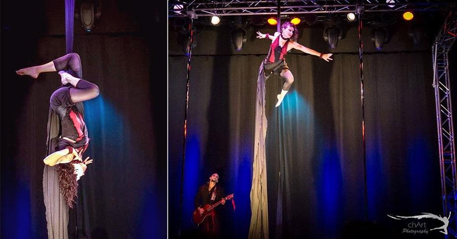 Aerial Silks Costume by Schwatz Katz