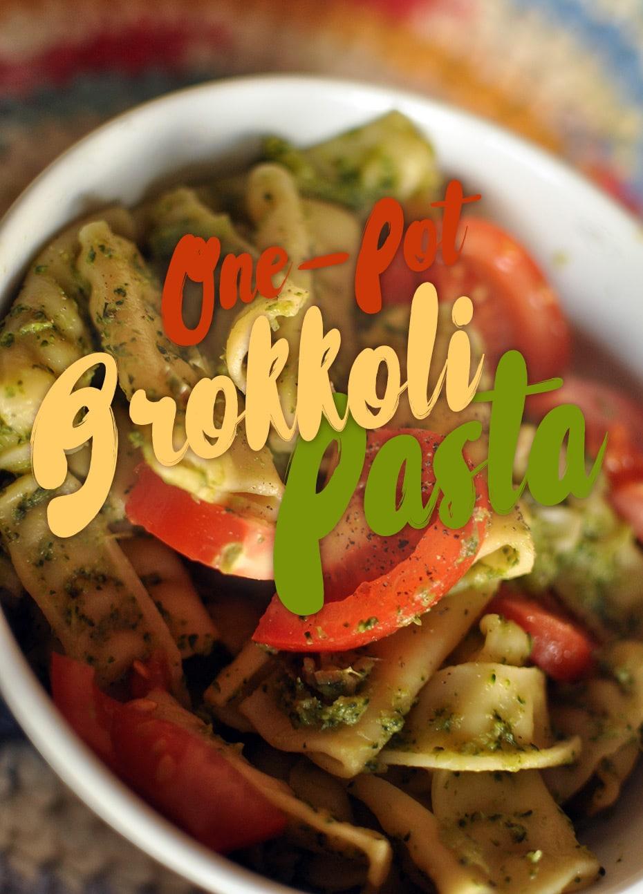 One Pot Brokkoli Pasta | Schwatz Katz