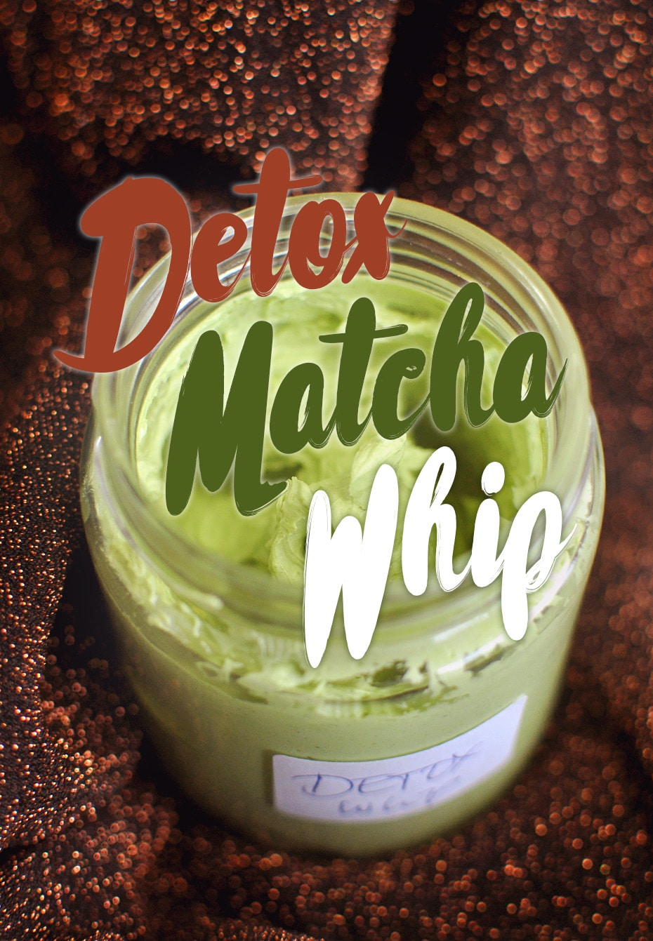 Detox Matcha Whip Körpersahne | Schwatz Katz