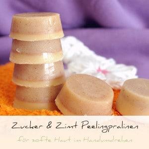 Zucker & Zimt Peelingpralinen | Schwatz Katz