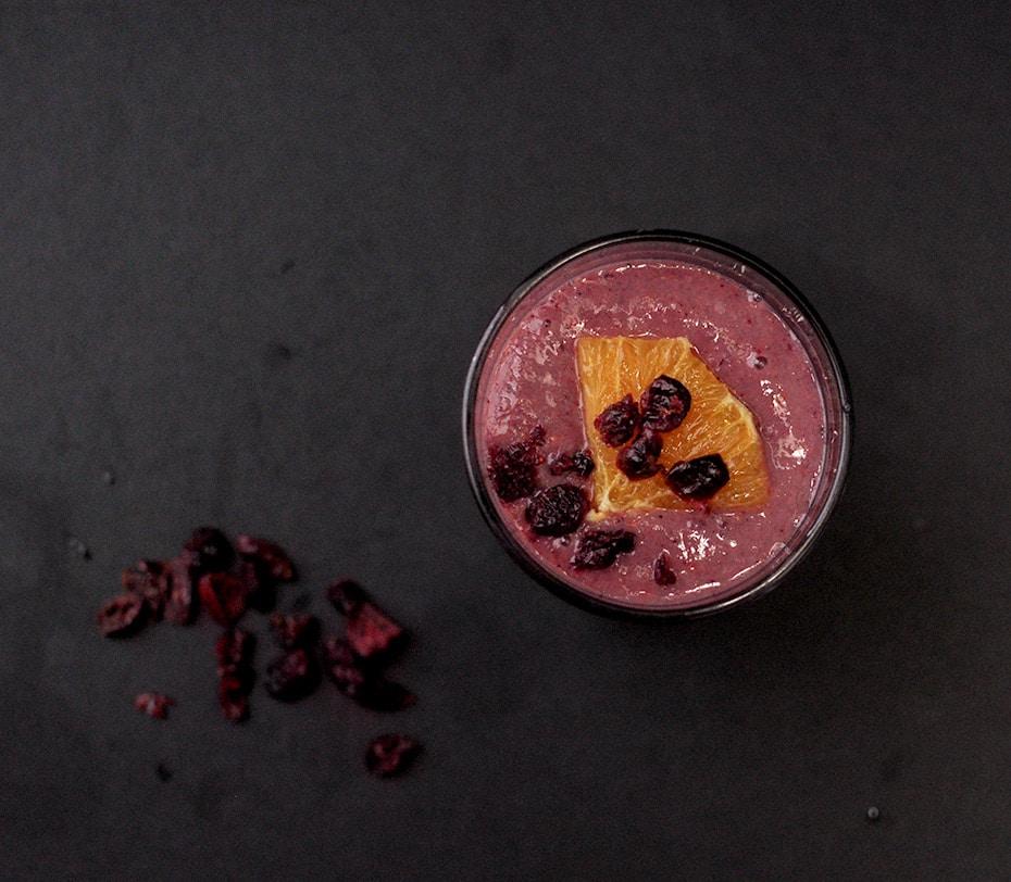 Maqui-Cranberry – Rot ist die Smoothie Liebe | Schwatz Katz