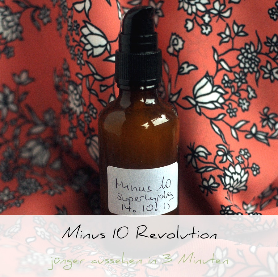 Minus 10 Revolution, Anti Aging Speed Up Serum | Schwatz Katz