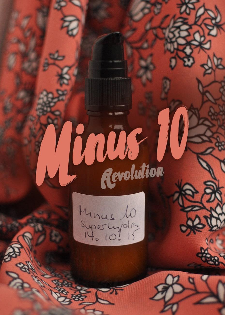 Minus 10 Revolution, Anti Aging Speed Up Serum | Schwatz Katz