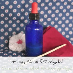 »Happy Nails« DIY Nagelöl | Schwatz Katz