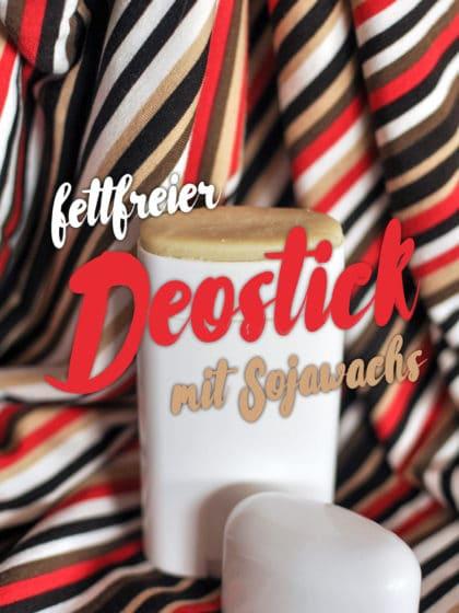 Fettfreier Deostick aus Sojawachs | Schwatz Katz