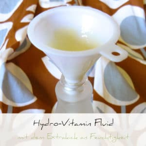 Selbstgemachtes Hydro-Vitamin Fluid | Schwatz Katz