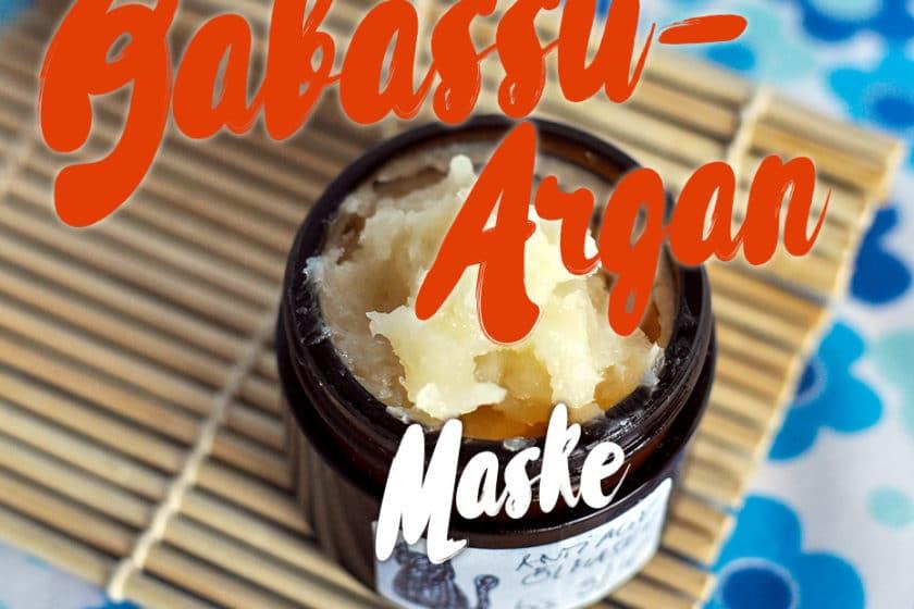 Glättende Babassu-Argan Maske | Schwatz Katz